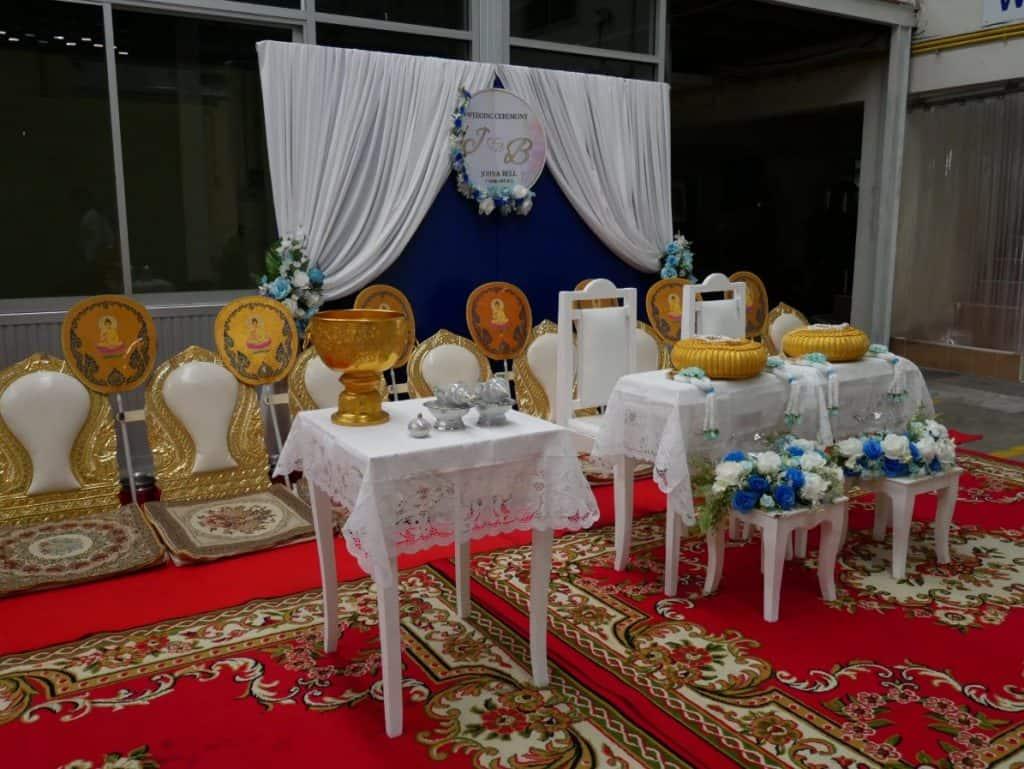 Catering กับการจัดงานแต่งง่ายๆแต่มีไตล์