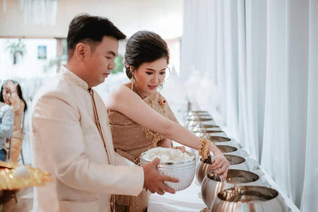รับจัดงานแต่งพิธีเช้า ตามแบบประเพณีไทย